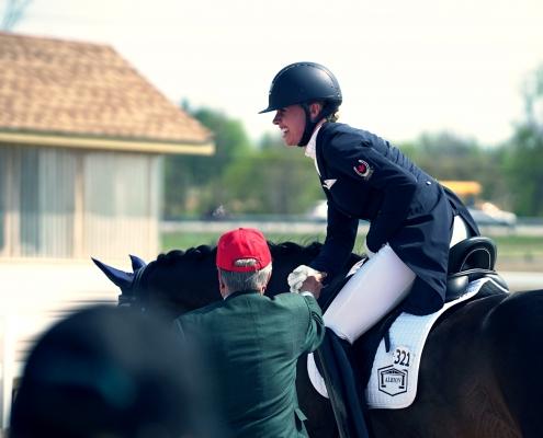wedstrijd wedstrijden competitie dressuur paardrijden tips advies