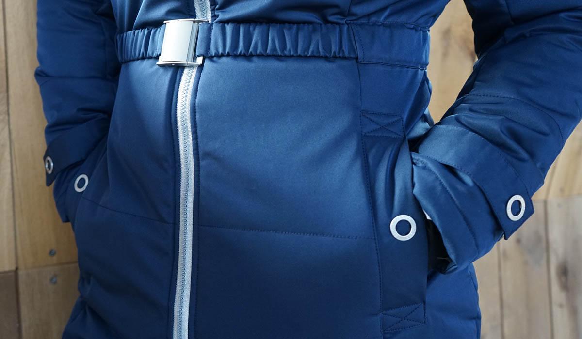 Anky comfort coat close up 2