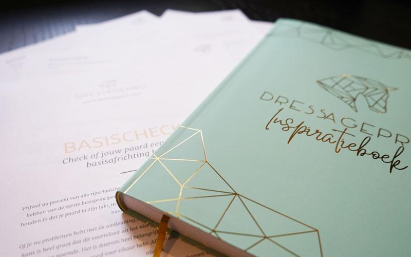 inspiratieboek logboek training dressuur