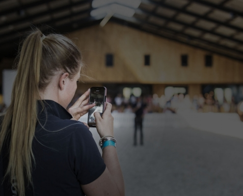 masterclass mobiele telefoon filmen dressagepro